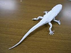 Origami Lizard by Bismuthderg -- Fur Affinity [dot] net | 187x250